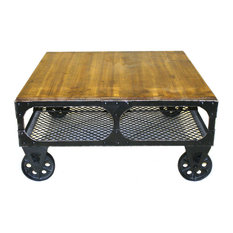 Alfred Coffee Table Small, Amber