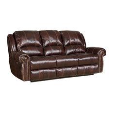 Hooker Furniture   Saddle Brown Power Motion Sofa   Sofas