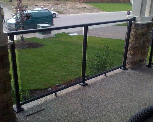 deksmart - Traditional Glass Railings - Products
