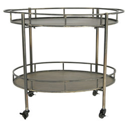 Industrial Bar Carts by Creative Co-op