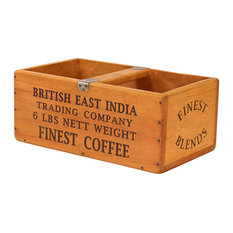 Vintage-Style Style Box, British East India Finest Coffee
