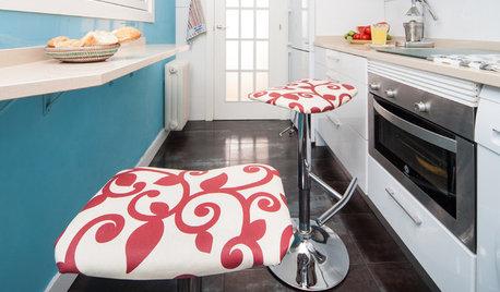 DIY : Retapissez vos tabourets pour relooker votre cuisine