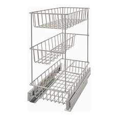 Premium Kitchen 3-Tier Pull-Out Pantry Basket