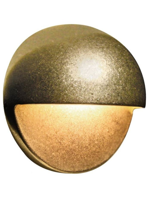 Fx Luminaire Fx Luminaire Ms Series Led Wall Light In Bronze Metallic With 1