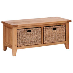Arts & Crafts Accent & Storage Benches by Besp-Oak Furniture