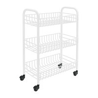Sienna 3-Tier Cart With Wheels
