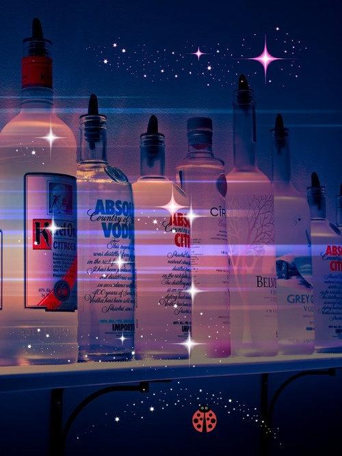 LED Liquor Cabinet Lighting