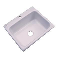 Madison 1-Hole Kitchen Sink, Innocent Blush