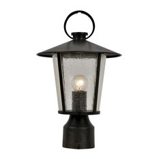 Crystorama AND-9207-SD-MK Andover - One Light Outdoor Post Lantern