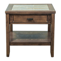 Mesa Valley End Table Tobacco Finish
