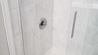 Light Blue Bathroom Project