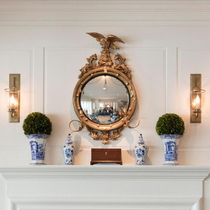 Laura Boyd Interior Design | Annapolis Maryland Mantle Refresh and Styling