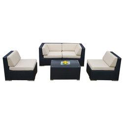 Tropical Outdoor Lounge Sets by Ohana Depot