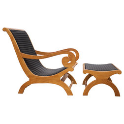 Traditional Outdoor Lounge Chairs by Chic Teak
