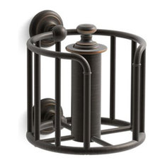 Kohler Artifacts Toilet Tissue Carriage, Oil-Rubbed Bronze