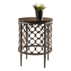 Hillsdale Furniture   Brescello Round End Table, 5752OTE   Side Tables And End  Tables