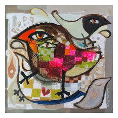 "Pissarro ""Love Birds"", 30""x30"""
