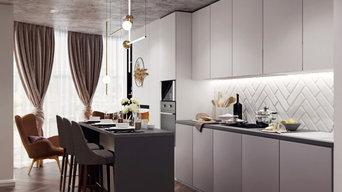 Дизайн интерьера для квартиры в ЖК Янтарный