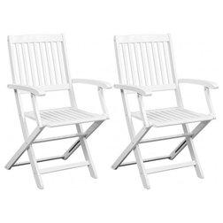 Coastal Garden Dining Chairs by Vida XL International B.V.