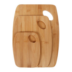 Neoflam 3-Piece Bamboo Cutting Board Set with Handle