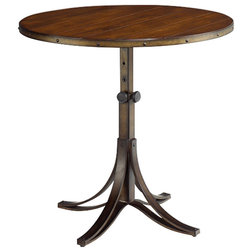 New Transitional Side Tables And End Tables Mercantile Round Adjustable Accent Table