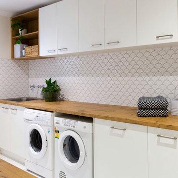 Hillside Kitchen & Laundry Renovation
