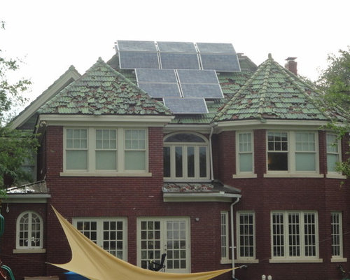 Dallas Historical Home Damaged By Hail Custom Tile Roof
