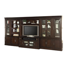 Parker House Stanford 6-Piece 60-inch Entertainment Center In Sherry