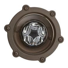Landscape 12V LED 14W 10-Degree S Well, Bronzed Brass, 2700K Warm White