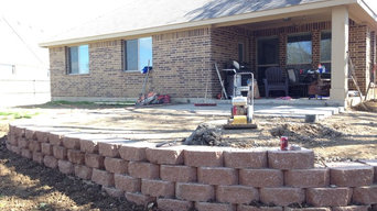 Retaining Wall Paver Patio