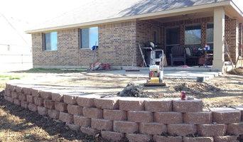 Retaining Wall Paver Patio