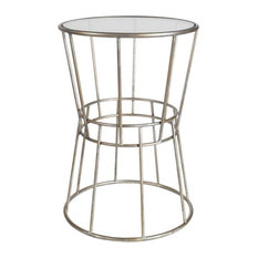 Mercana Enduring Elegance Accent Table Silver