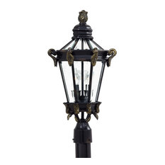 The Great Outdoors GO 8935 2 Light Post Light from the Stratford Hall Collectio