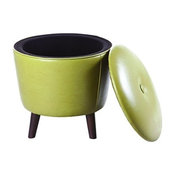 Madison Park FPF18-0229 Crosby Ottoman, Green
