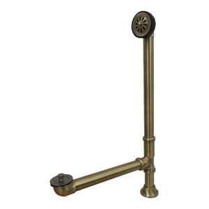Kingston Brass CC1112 Vintage Rubber Stopper Chain and Attachment Brass//Antique Brass