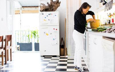 Kreative rum: 'Dronningen af friske forårsruller' viser sit køkken
