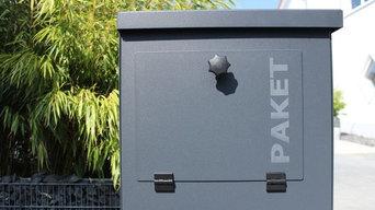 metz Postoffice - Briefkasten und Paketkasten
