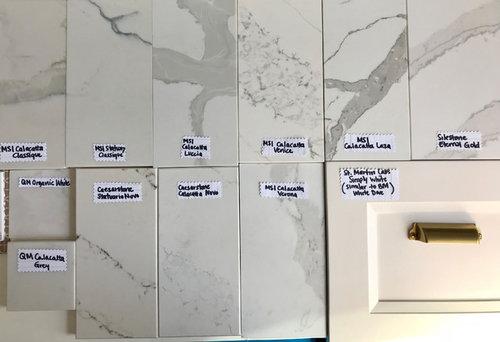 Marble Like Quartz Sample Examples