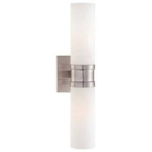 Minka Lavery 4462-84 Compositions 2 Light Double Sconce Wall Sconce