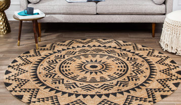 Up to 75% Off Round and Square Rugs