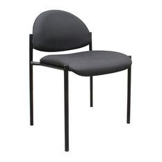 BOSS   Boss Diamond Stacking, Black   Office Chairs