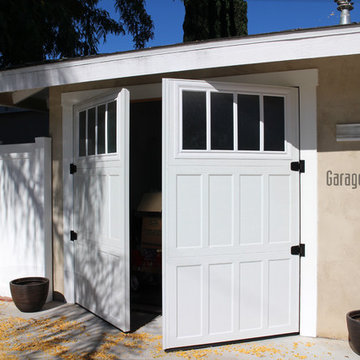 Swing-Out Carriage House door