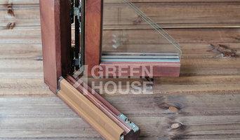 Деревянное европейское окно, профиль Климатренд-78