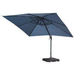Contemporary Outdoor Umbrellas by GDFStudio