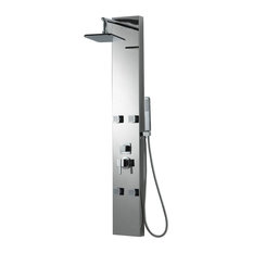 Wall Mount Shower Panel in Chrome Finish