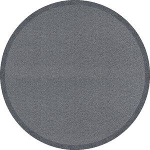 Round Clean Keeper Doormat, Light Grey