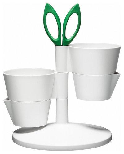 Contemporary Indoor Pots And Planters by Design Public