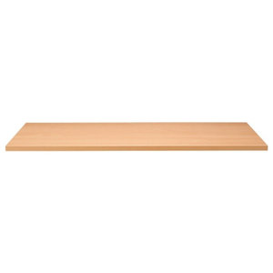 Beech Laminate Top, 25 mm MDF With Matching ABS Edge, 1000x500 mm