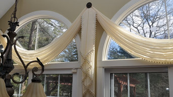 Palladian Window Covering