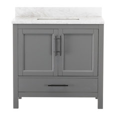 Kendall Gray Bathroom Vanity, 36""